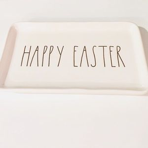 NEW! 🌼 Charming Rae Dunn, 'HAPPY EASTER' Tray! 🐣